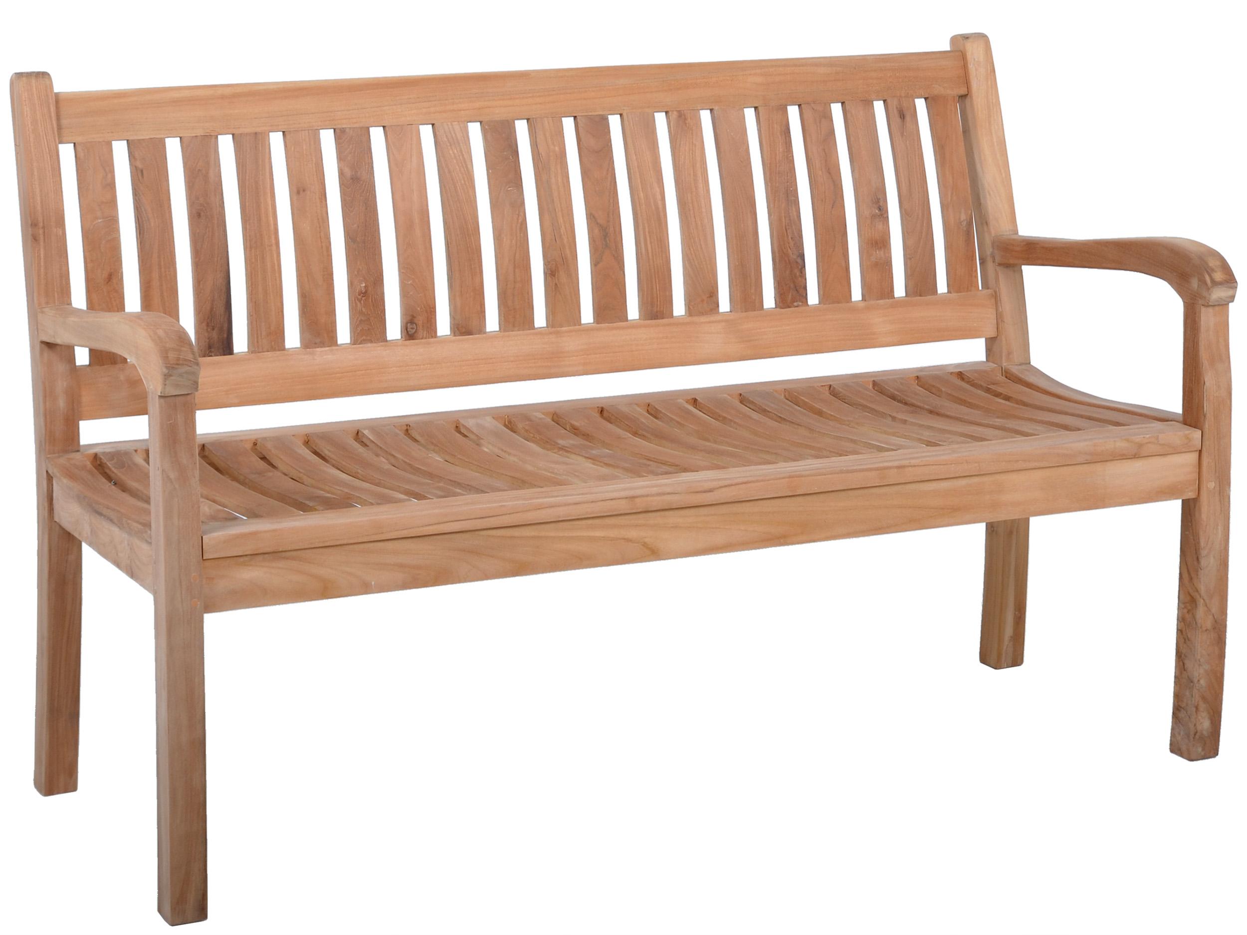 gartenbank aus teak beaufort 3 sitzer 150cm. Black Bedroom Furniture Sets. Home Design Ideas