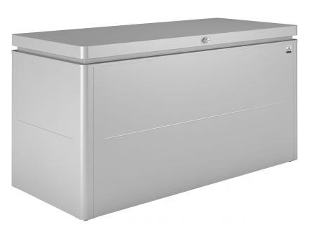 Biohort LoungeBox 160 silber-metallic