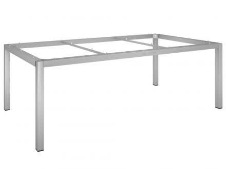 Vorschau: Stern Tischgestell 200x100cm Edelstahl Vierkantrohr