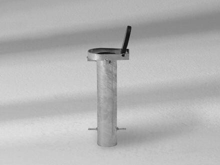 Glatz Bodenhülse PX Stahl verzinkt