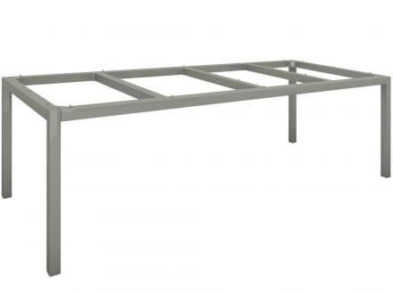 Vorschau: Stern Tischgestell Aluminium Vierkantrohr 250x100cm graphit