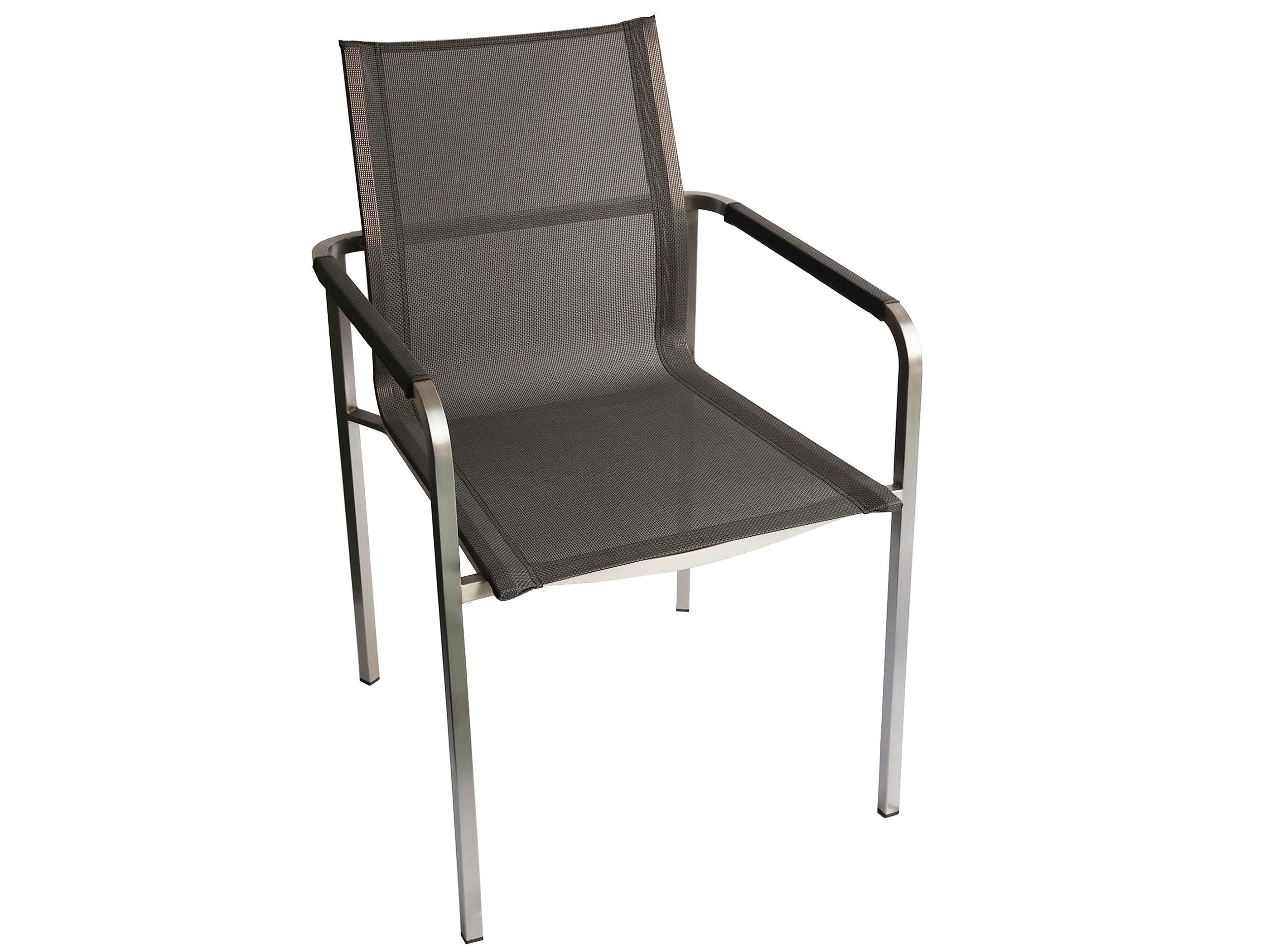 kettler stapelsessel feel edelstahl outdoorgewebe. Black Bedroom Furniture Sets. Home Design Ideas