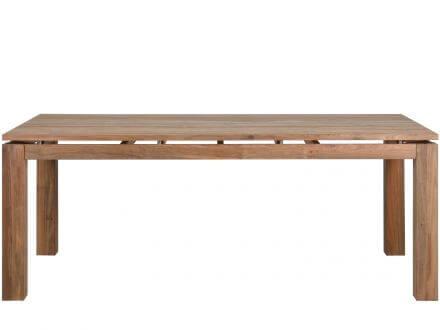 Vorschau: Gartentisch Glasgow mit Tischplatte in schwebender Optik