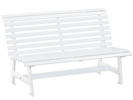 Kettler Alu Gartenbank 3-Sitzer weiß