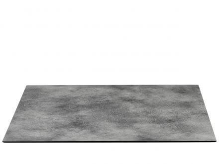 Lünse HPL Tischplatte Nemo 80x80cm Beton-Effekt