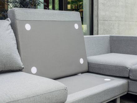 Vorschau: Kettler EGO Lounge-Set SUNBRELLA® Schaumstoffe mit Drainagefunktion