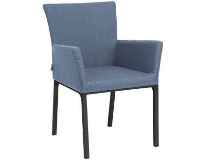 Stern Artus Dining-Sessel Alu-Outdoorstoff blau