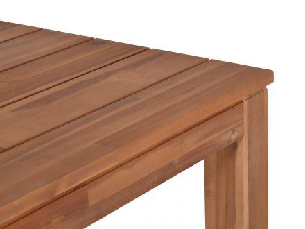 Vorschau: Tisch Madera Akazienholz 165x90cm Detailbild