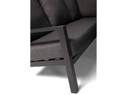 Vorschau: Tierrra Outdoor Aluminium Loungeset Ecke Lima anthrazit