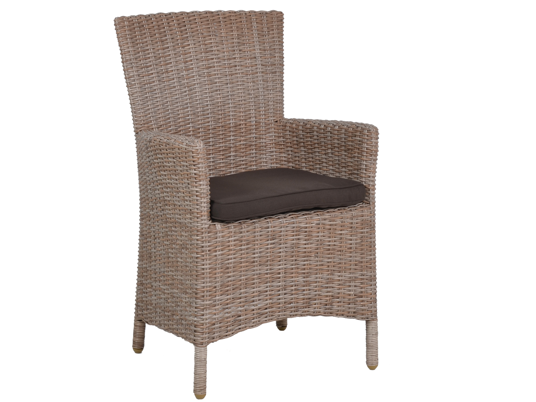 dining geflechtsessel martinique rattanoptik inkl sitzkissen gartenm bel l nse. Black Bedroom Furniture Sets. Home Design Ideas