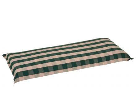 Bankauflage 110cm Stoffkollektion Country - Karomuster grün