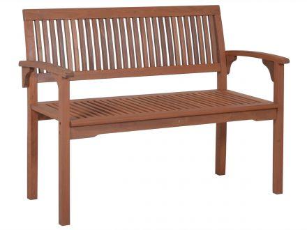 Lünse Holzgartenbank Osaka 118cm 2-Sitzer