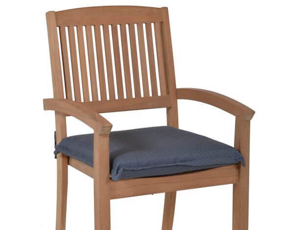 Vorschau: Beispiel Sitzkissen im Gartenstuhl