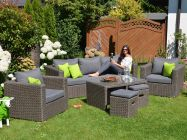 Outdoor Lounge Gartenmöbel Set Meridien 6-teilig
