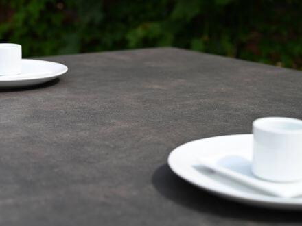 Vorschau: Aluminium-Keramik Gartentisch Lindau