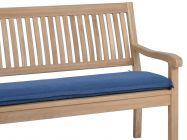 Bankauflage Malibu 3-Sitzer 140cm, Farbe: denim-blue