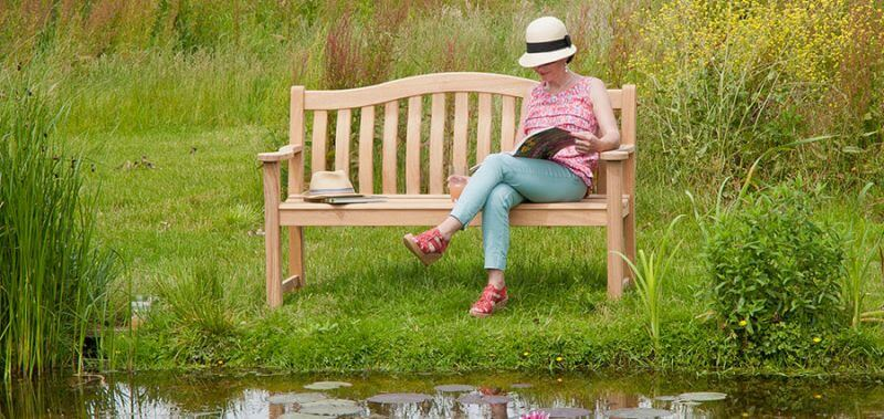 Gartenbank 2-Sitzer