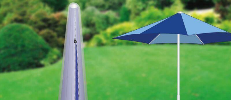 Schutzhüllen für Sonnenschirme