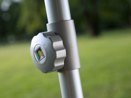 Vorschau: Kettler Sonnenschirm Easy-Push 200x200cm silber/taupe