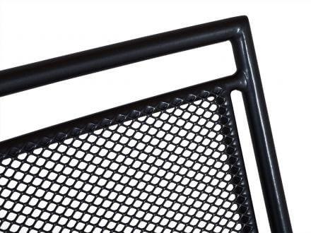 Vorschau: Royal Garden Stapelsessel Stahl Streckmetall Hochlehner eisengrau