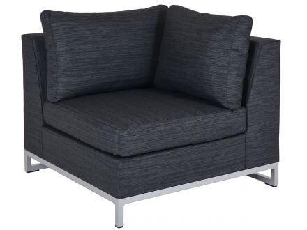 Lünse Outdoor Textil Lounge Legian - Eckmodul anthrazit