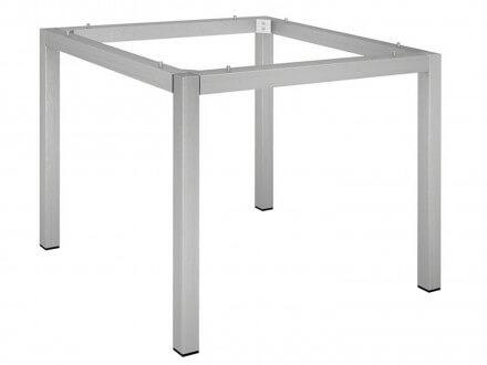 Stern Tischgestell Edelstahl Vierkantrohr 80x80cm