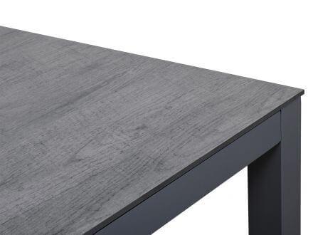 Vorschau: HPL Oberflächen-Dekor oak grey Seitenansicht