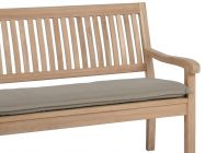 Bankauflage Malibu 3-Sitzer 140cm, Farbe: sand