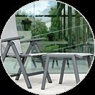 Allround - perfekte Ergänzung zu Stern Gartenmöbeln