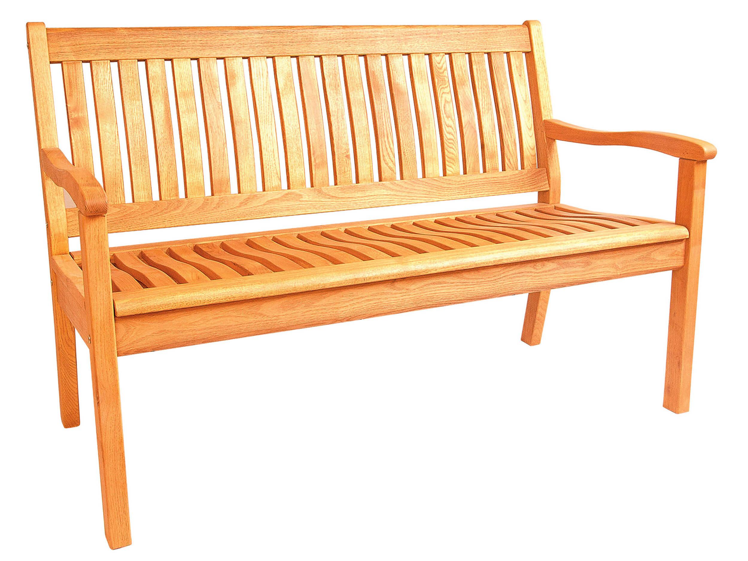 Gartenbank Holz - Holzgartenbänke günstig kaufen | Gartenmöbel Lünse