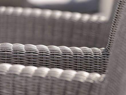 Vorschau: STERN Sessel SORTINO verstellbar Geflecht basaltgrau