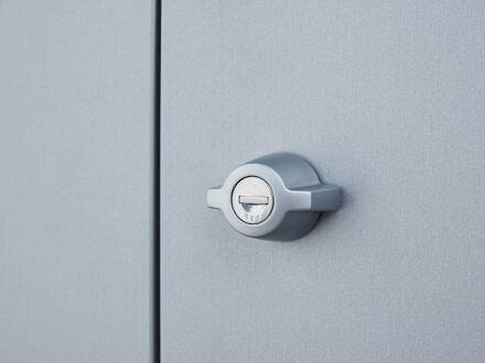 Vorschau: Drehknebel-Zylinderschloss inkl. Reserveschlüssel
