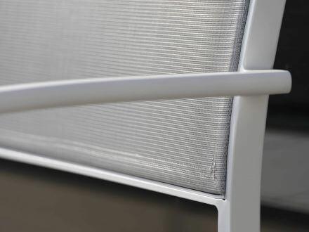 Vorschau: STERN Allround 2,5-Sitzer Bank Alu mit Textilenbezug