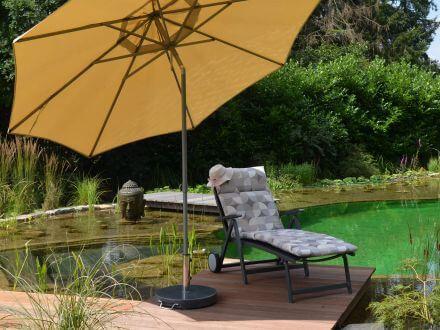 Vorschau: Schirmständer Beispiel mit Stockschirm 3 Meter