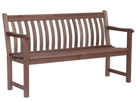 Alexander Rose Sherwood Broadfield Holzgartenbank 146cm 3-Sitzer
