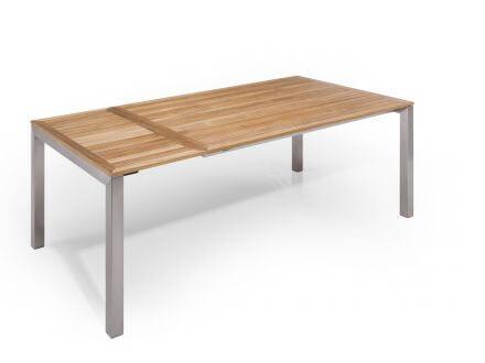 Vorschau: Tisch einmal ausgezogen 250x100cm