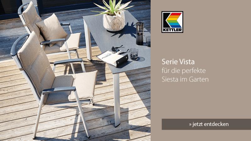 Kettler Serie Vista: Für die perfekte Siesta im Garten - jetzt entdecken!
