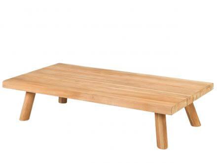 Tierra Outdoor Teakholz Lounge Tisch Wakkanda 150x80cm