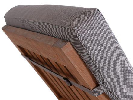 Vorschau: Lünse XL Liegenauflage Malibu Comfort jute