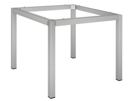 Vorschau: Stern Tischgestell 80x80cm Edelstahl Vierkantrohr