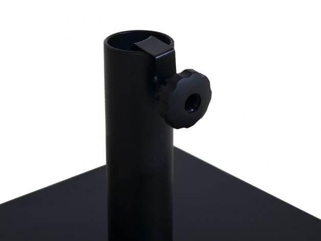 Detailbild flexible Schraubklemmung