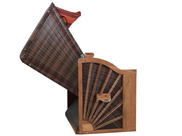 Halbliegemodell, Oberkorb bis 45° Neigungswinkel einstellbar