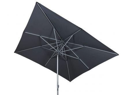 Vorschau: Lünse Alu Sonnenschirm Easy-Hybrid 250x250cm