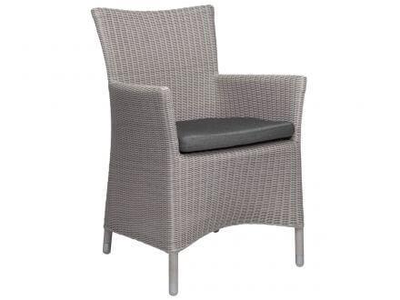 STERN Sessel SORTINO Geflecht Vintage weiß