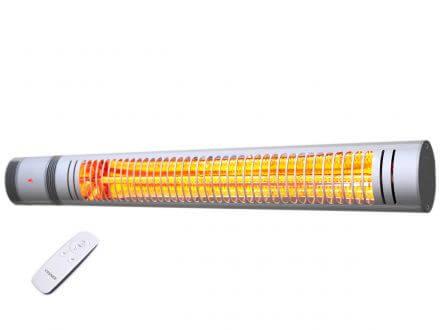 VASNER SlimLine X20 Outdoor Elektro Heizstrahler Silber