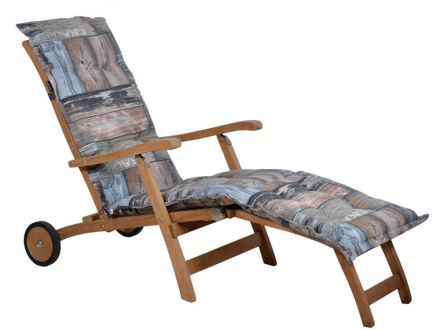 Madison Auflage Deckchair jime grey