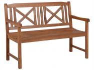 Lünse Holz 3-Sitzerbank Bali 120cm