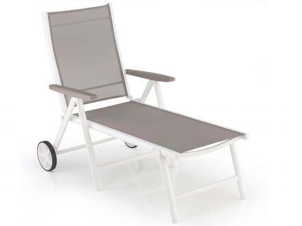 Kettler Vista Rollliege weiß-beach-grey