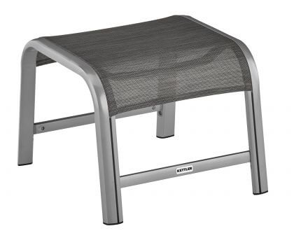 Kettler Avalon & Forma II Hocker silber-graphit