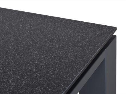 Vorschau: Detailbild Bartisch Tischplatte mit pflegeleichter Superstone-Beschichtung